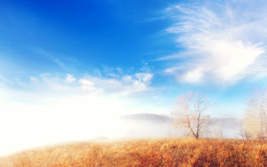 cloud fog landscape-wallpaper