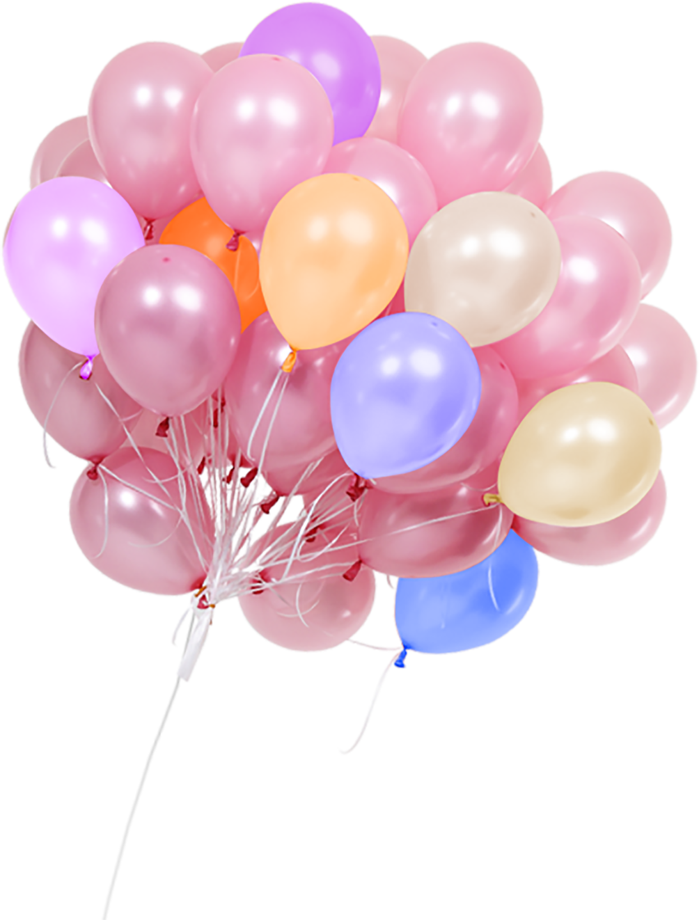 Real balloons png Transparent Images