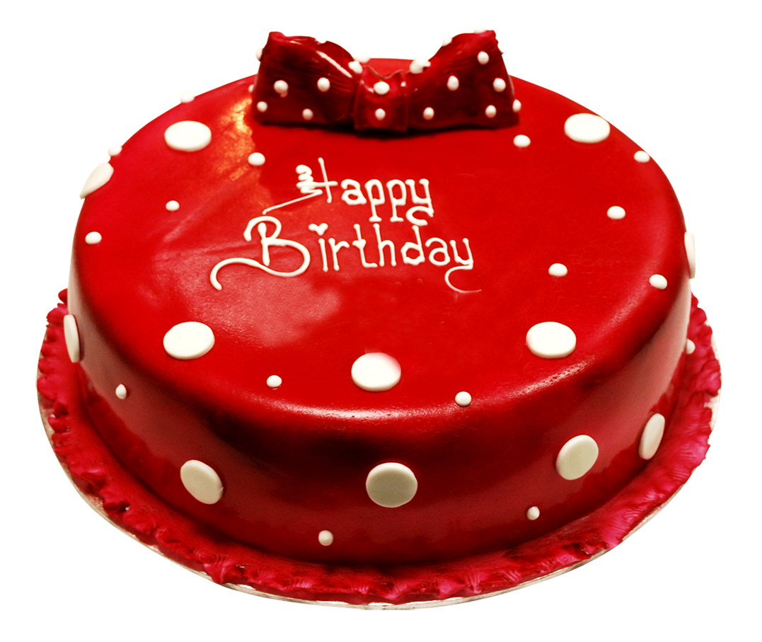 Red Birthday Cake Png Clebration Cake Png