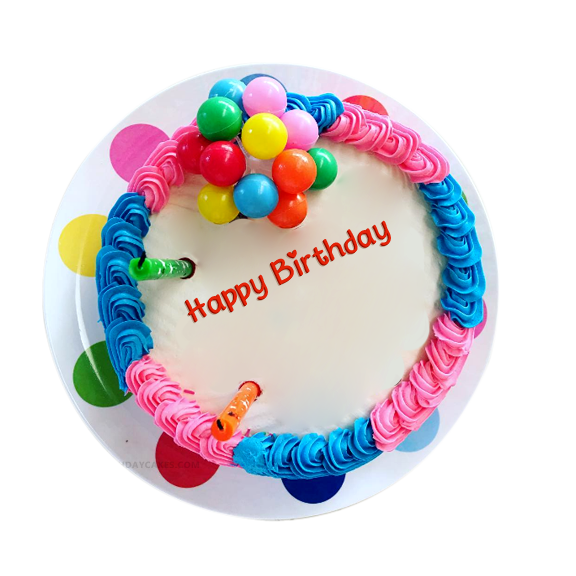 Colorful Birthday Cake Images