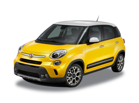 Fiat 500 car png image sport model
