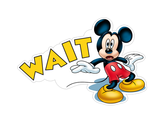 mickey-mouse-Wait-sticker