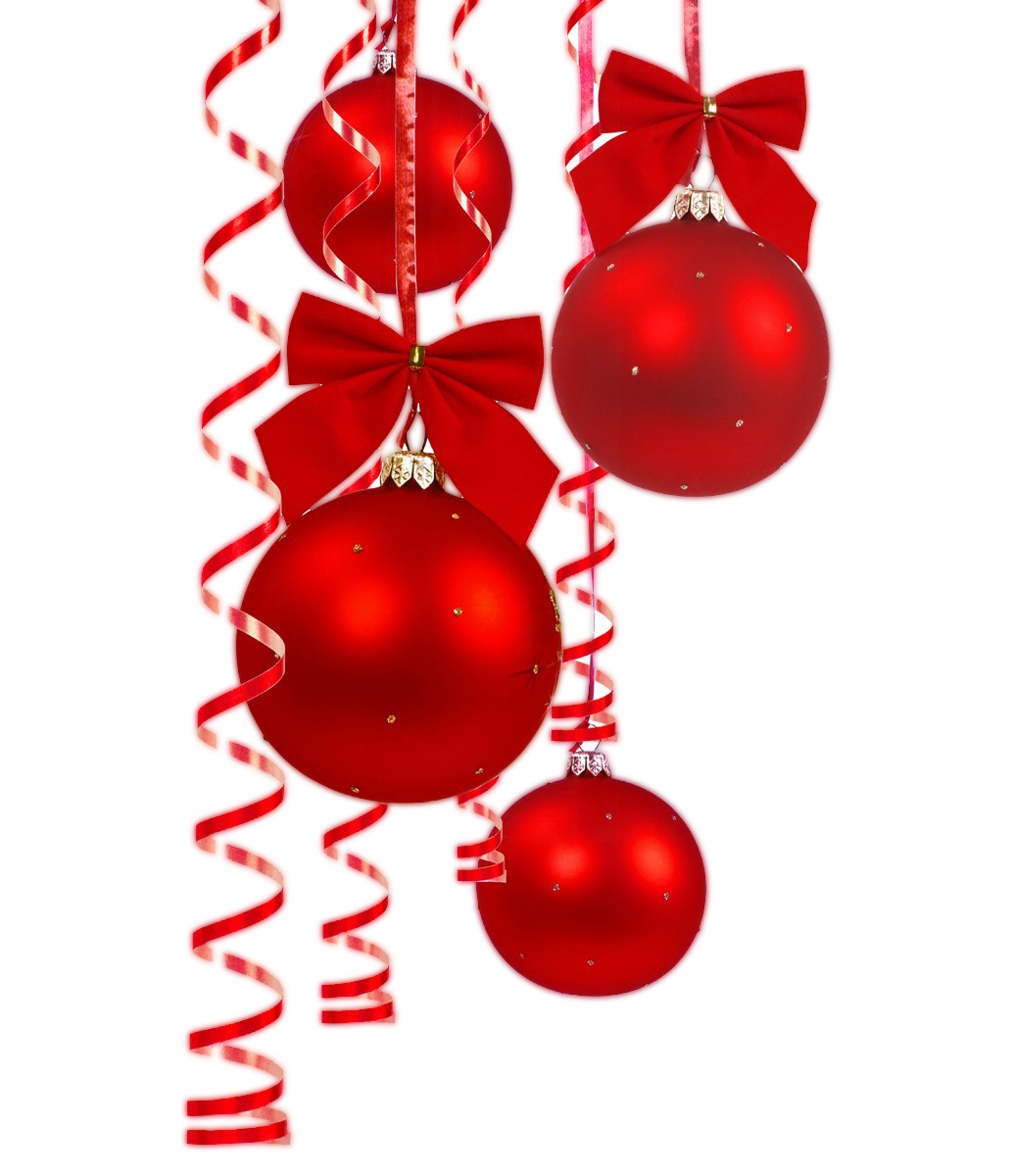 RED Christmas Ball Hanging Design