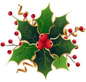 Christmas Holly PNG