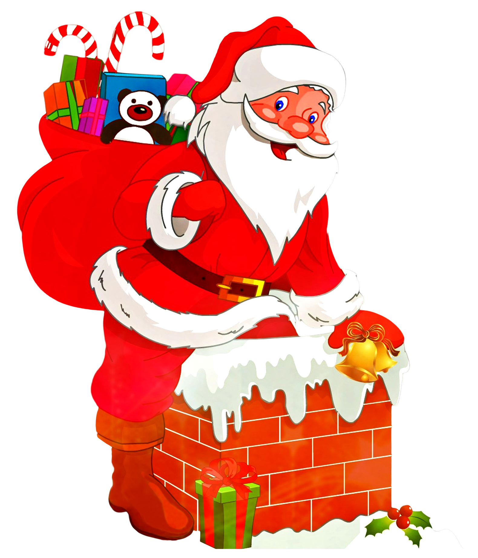Santa Claus PNG Transparent Image