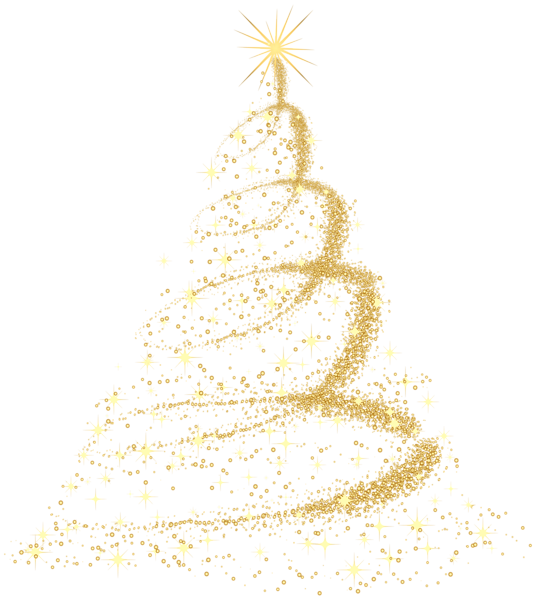 Christmas tree png images free for Modern gold christmas tree
