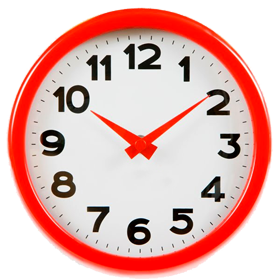 small size for web wall clock png, home wall clock png