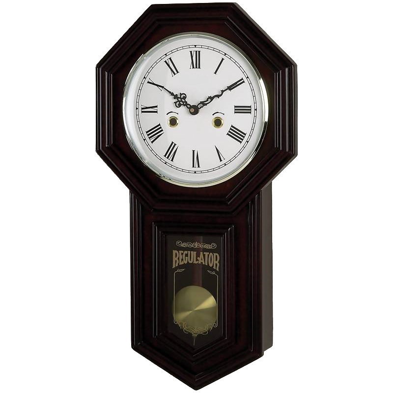 vintage old wall clock png transparent background