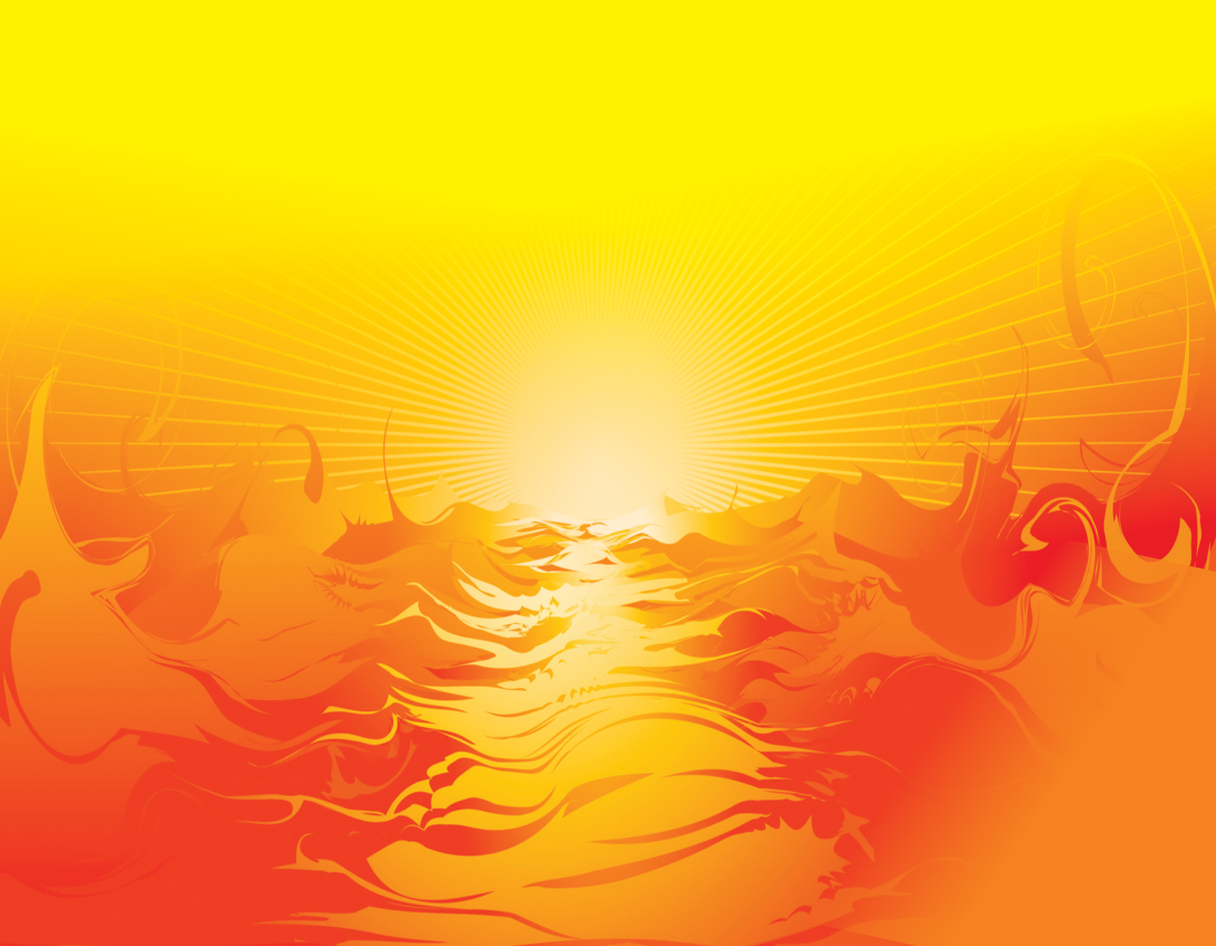 chhath puja background sun rise and clipart red and yellow