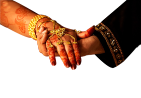 couple wedding hand png