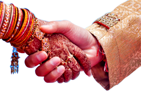 Wedding Couple Hand png image