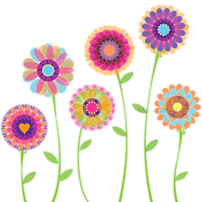 clipart flowers free