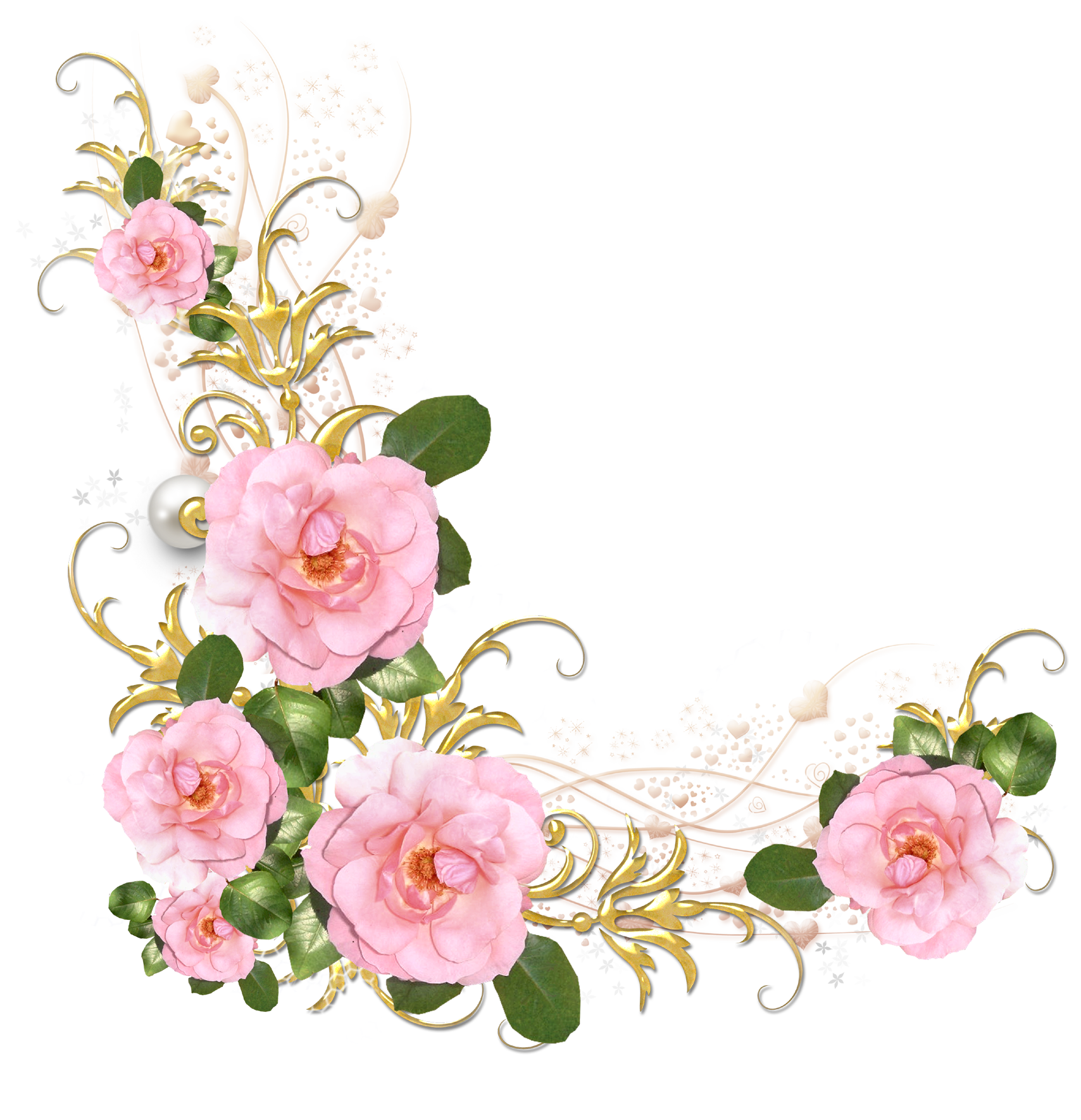 Pink Rose Png Psd Clipart Transparent
