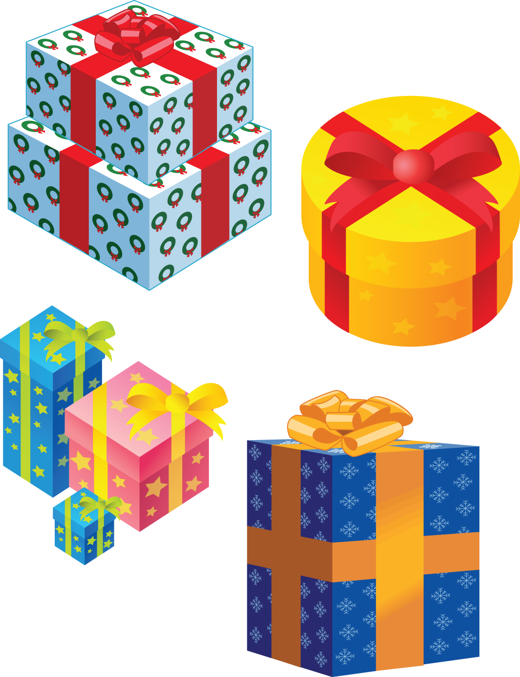 Gifts png images free download presents gift box transparent download negle Image collections