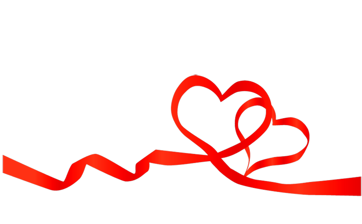 Heart Ribbon clipart Png