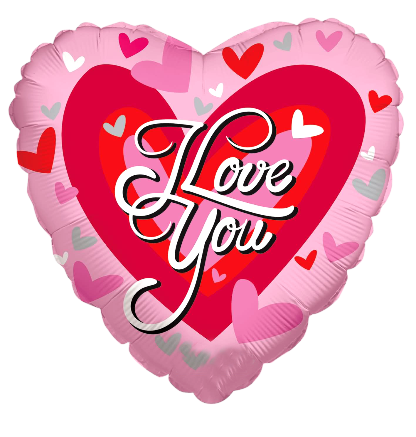 i love you written on heart png