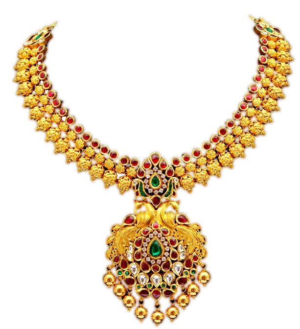latest gold necklace wedding jewellery png image free download