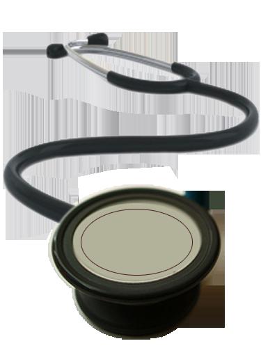 Medical stethoscope png transparent image