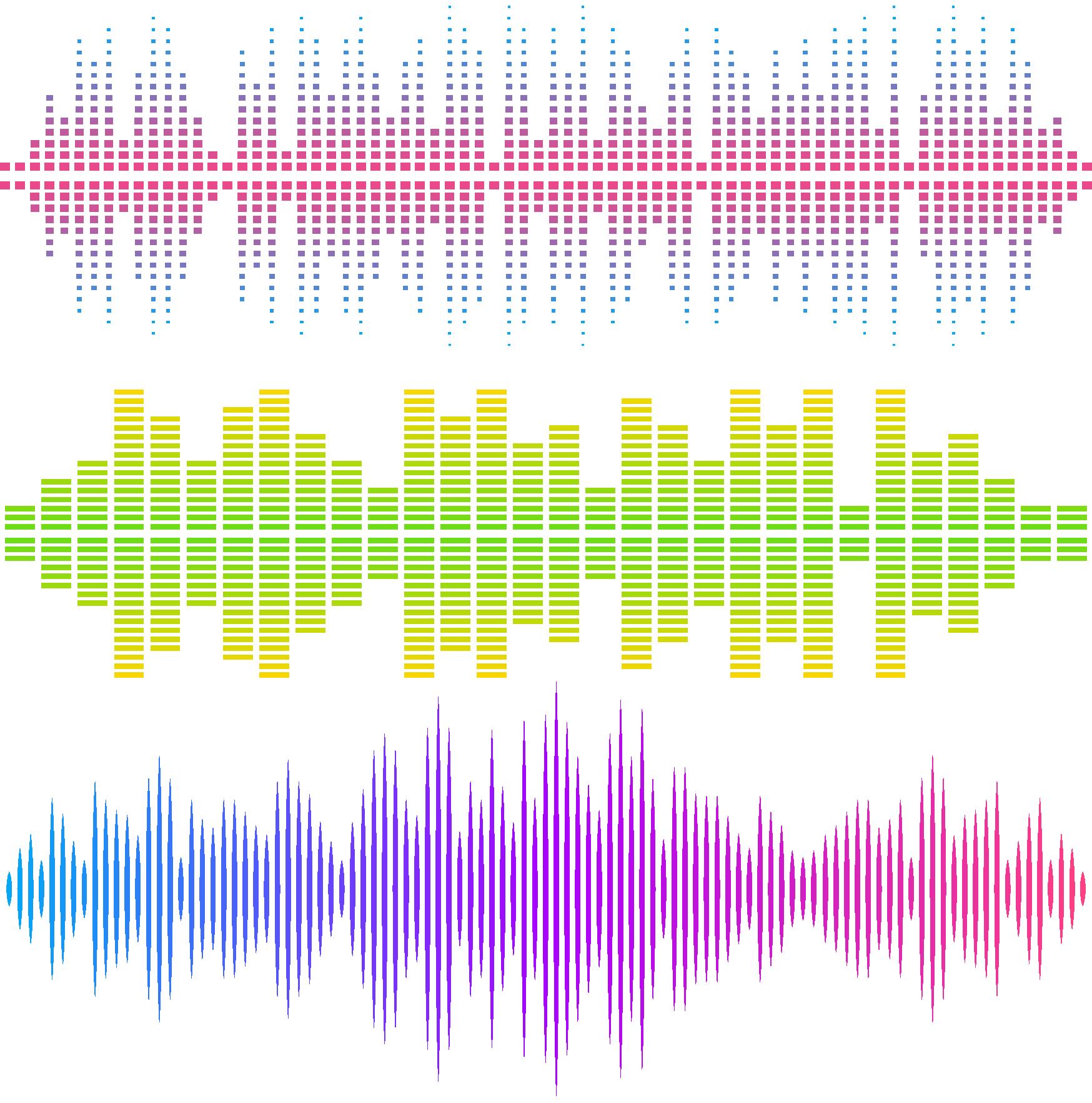 Music Bar sound waves PNG HD image free download