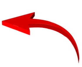 arrows clipart 3d right png red