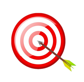 target with arrow image png
