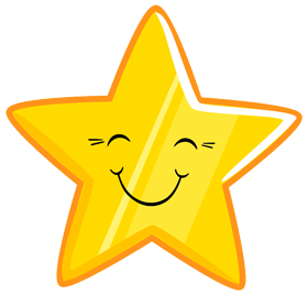 star png smiley face