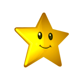 smile face star png