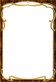 Wood frame png Transparent Backgound