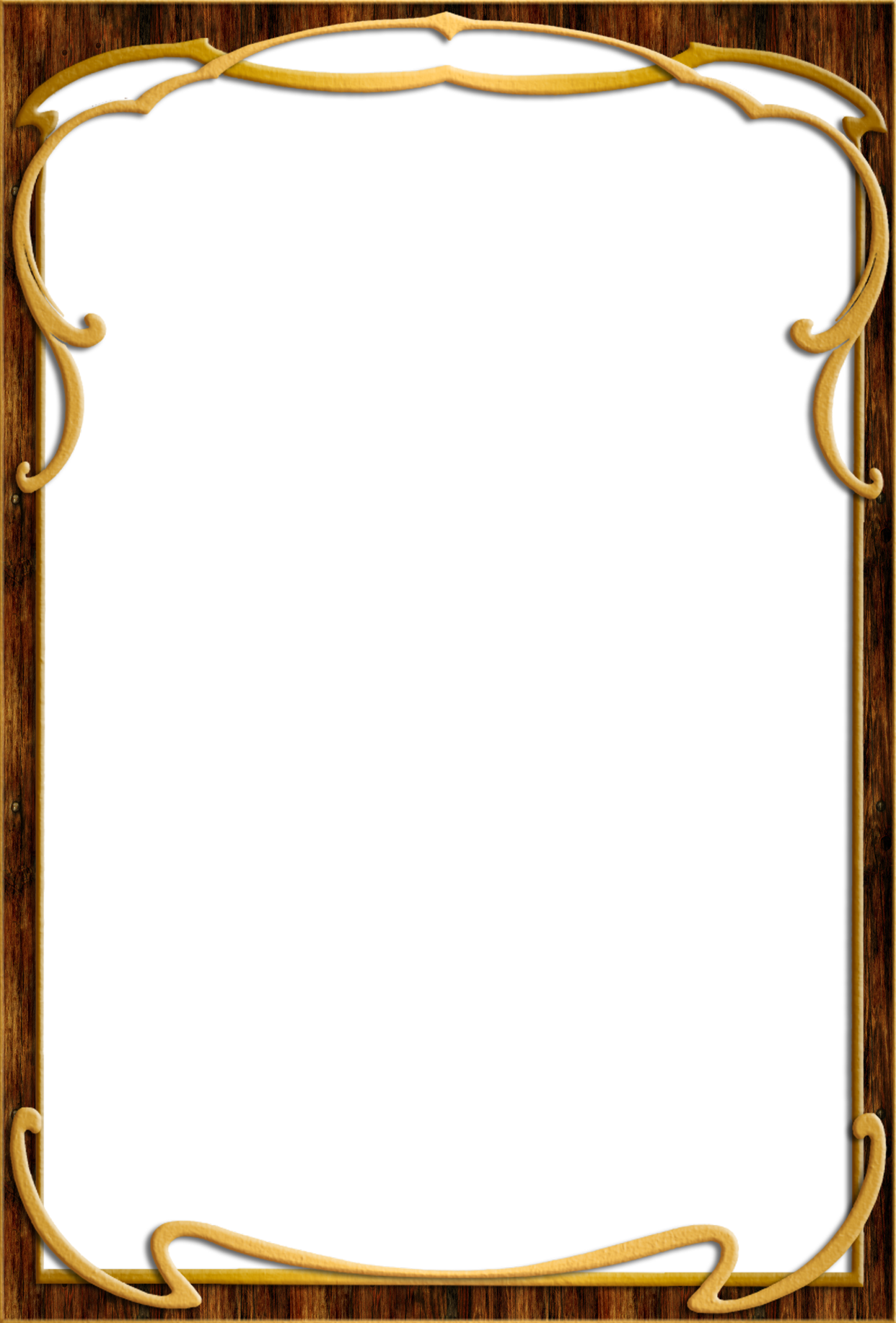 Home gt;gt; Objects gt;gt; Photo Frame gt; Wood frame png PNG image