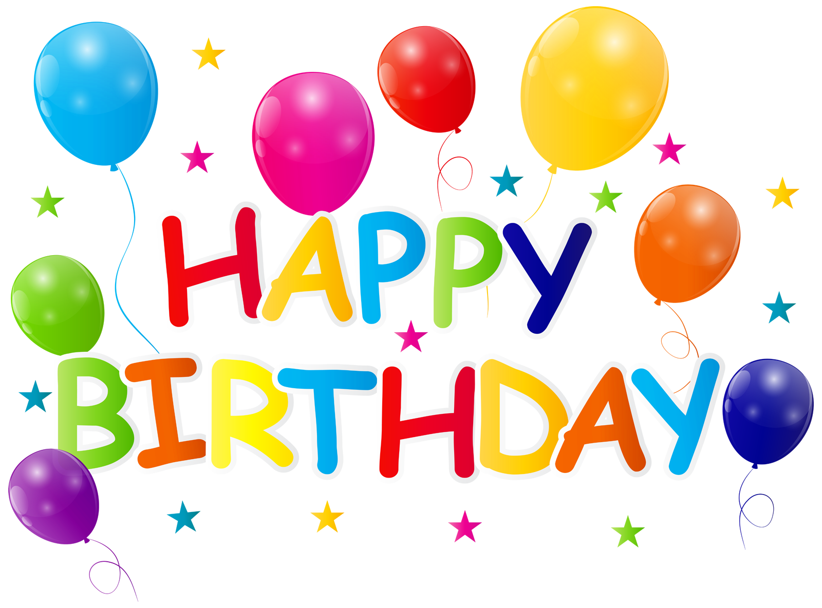 Happy Birthday PNG DESIGN ELEMENTS Free