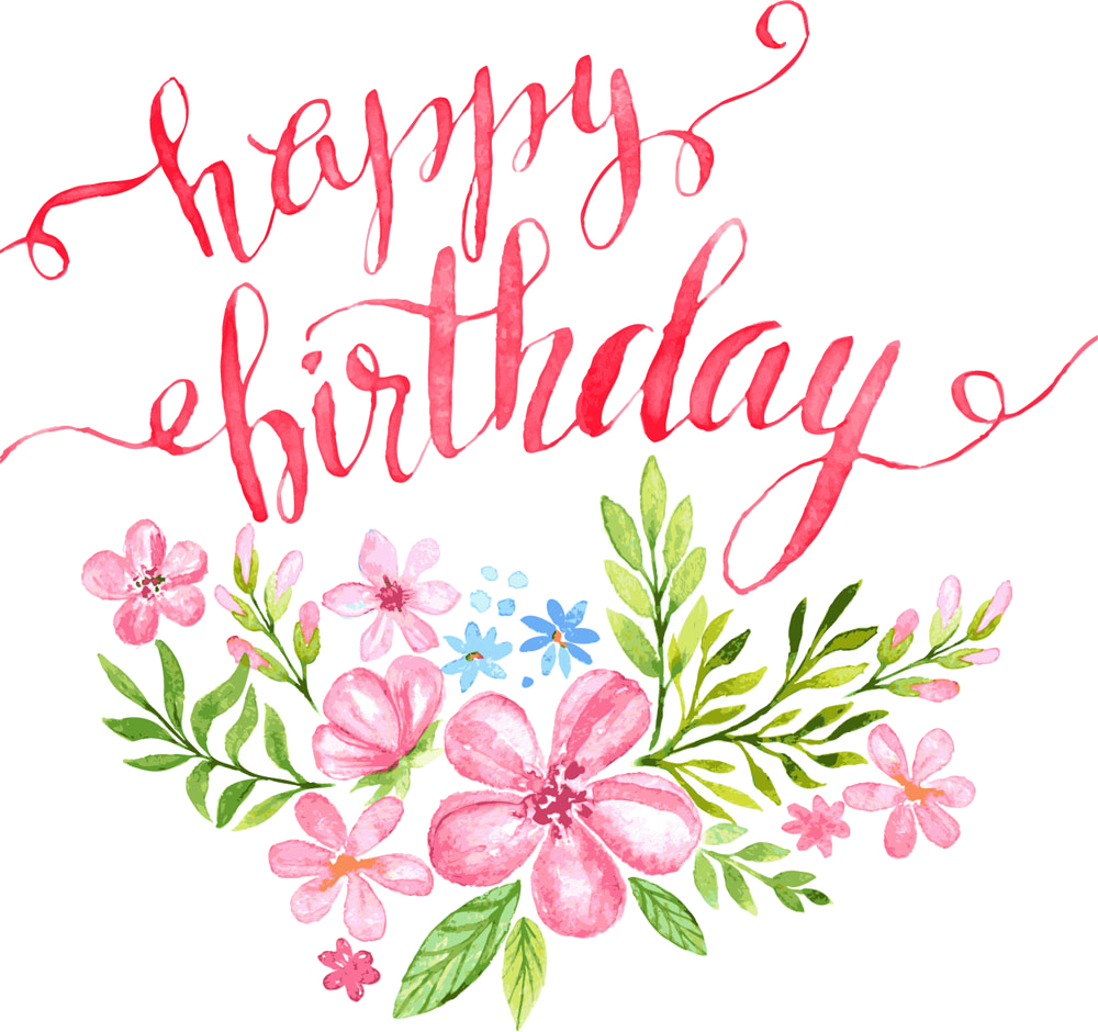 Happy Birthday Text Art Design In Png Vector Psd Format