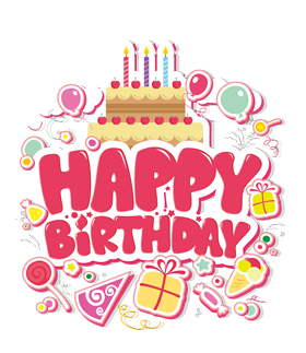 Happy Birthday PNG DESIGN ELEMENTS free