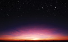 night view sky background with star