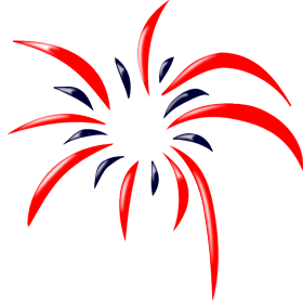 png fireworks clipart