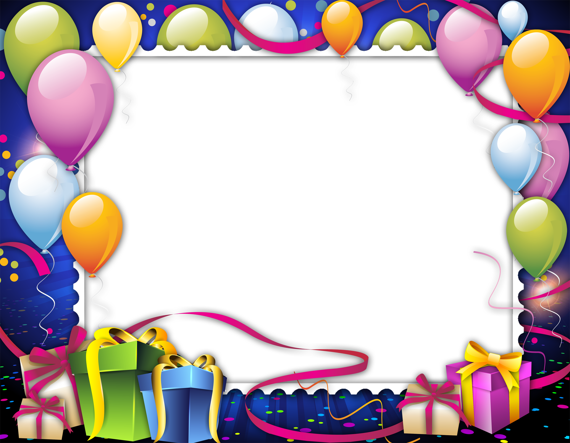 Birthday Frame Png Images Free Download