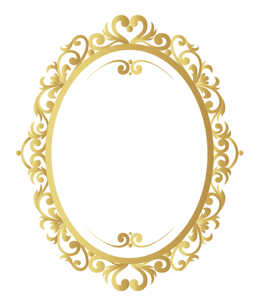 vector vintage frame png gold pattern border
