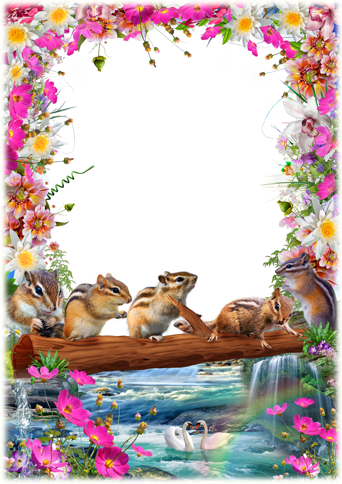 nature photo frame png free png images