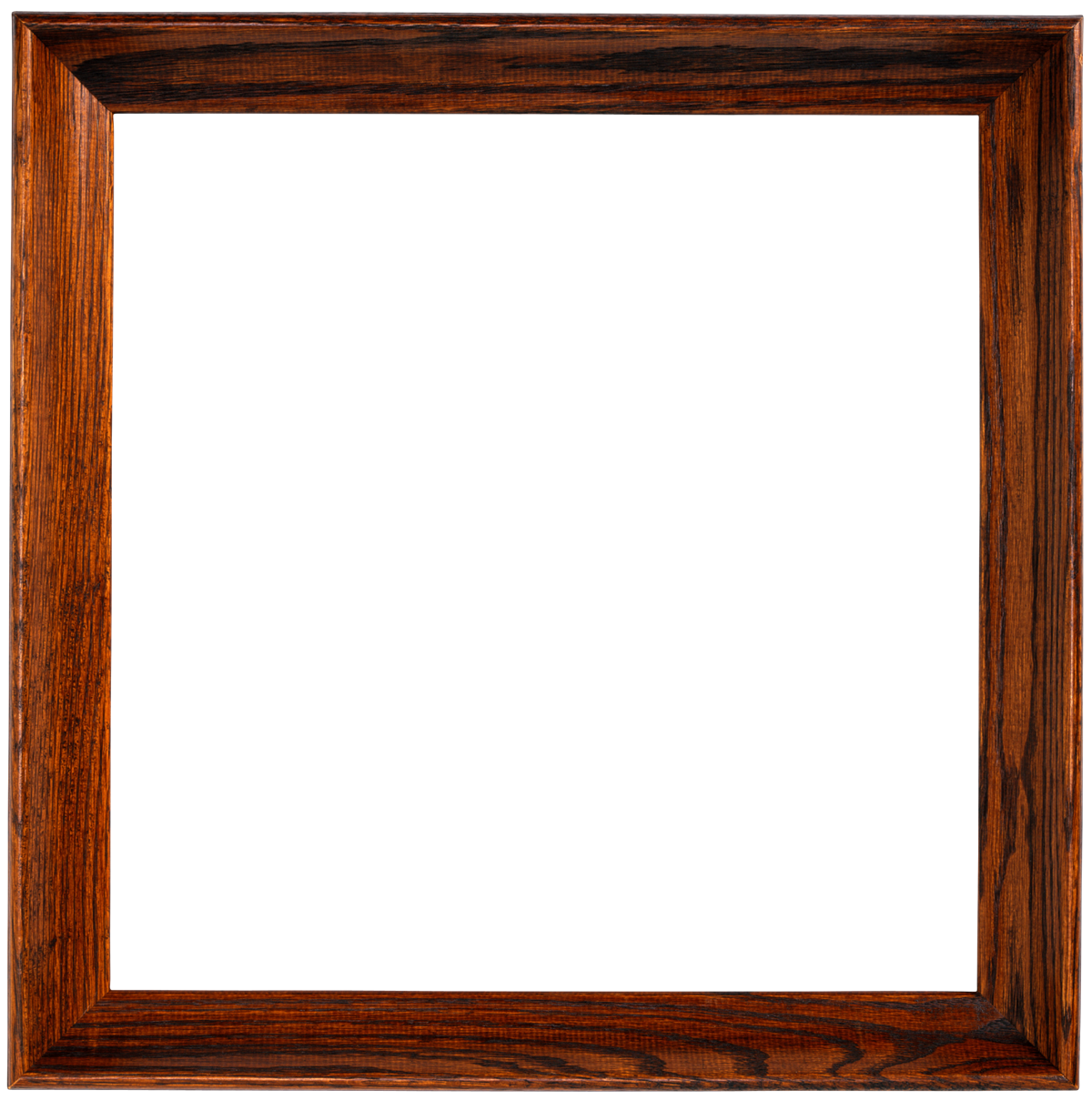 Rustic Wood Frame PNG isolated transparent images